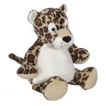Embroidery Buddy Stuffed Animal - LeRoy Leopard 16""