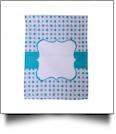 Confetti Dots Festive Outdoor Garden Banner - AQUA/PINK - CLOSEOUT