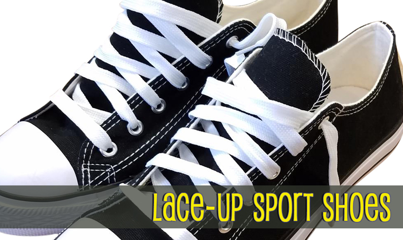 Lace-Up Low Top Sport Shoes
