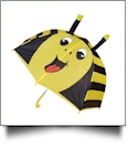 "Child's Character Umbrella with 24"" Diameter - BUMBLE BEE"