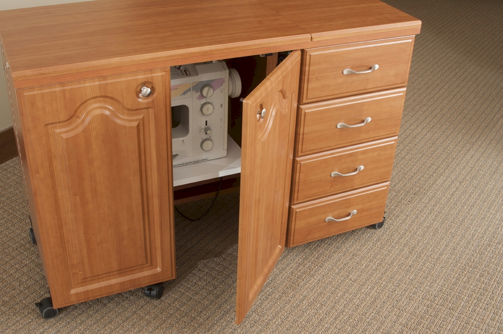 Fashion Sewing Cabinets Space Saver Deluxe Model 7600