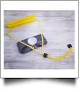 Universal Waterproof Cellphone Pouch with Lanyard - YELLOW