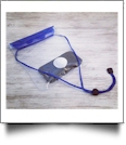 Universal Waterproof Cellphone Pouch with Lanyard - BLUE