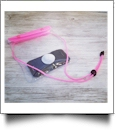 Universal Waterproof Cellphone Pouch with Lanyard - PINK