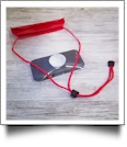 Universal Waterproof Cellphone Pouch with Lanyard - RED