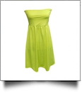 Classic Swimsuit Cover-Up Dress - BRIGHT YELLOW - CLOSEOUT
