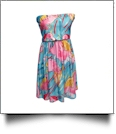 Classic Swimsuit Cover-Up Dress - FLAMINGO - CLOSEOUT