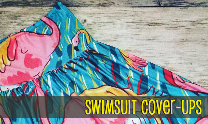 Swimsuit Cover Ups Embroidery Blanks