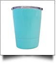 8oz Double Wall Stainless Steel Super Tumbler - CELESTIAL BLUE