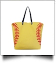 The Ultimate Softball Canvas Tote