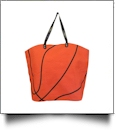 "The ""Slam Dunk"" Basketball Canvas Tote"