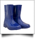 Youth Rain Boots - ROYAL BLUE - CLOSEOUT