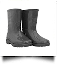 Youth Rain Boots - GRAY - CLOSEOUT