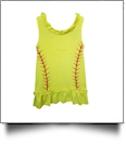 The Coral Palms™ Softball Ruffle Tank Dress - CLOSEOUT