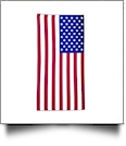 Old Glory USA Flag Print Hemmed Beach Towel
