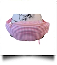Gingham Fashion Fanny Pack - PINK - CLOSEOUT