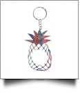 Acrylic Pineapple Key Chain - TROPICAL