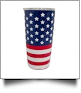 20oz Double Wall Stainless Steel Super Tumbler - OLD GLORY