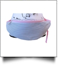 Seersucker Fashion Fanny Pack - PINK/NAVY - CLOSEOUT
