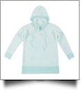 The Coral Palms® Popcorn Pullover Hoodie - MINT - CLOSEOUT