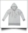 The Coral Palms® Popcorn Pullover Hoodie - GRAY - CLOSEOUT