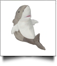 Embroidery Buddy Stuffed Animal -  Sebastian Shark 16""