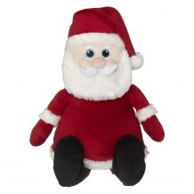 Embroidery Buddy Stuffed Animal - Santa 16""