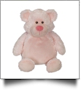 "Embroidery Buddy 16"" Stuffed Animal - Bobby Bear Pink"