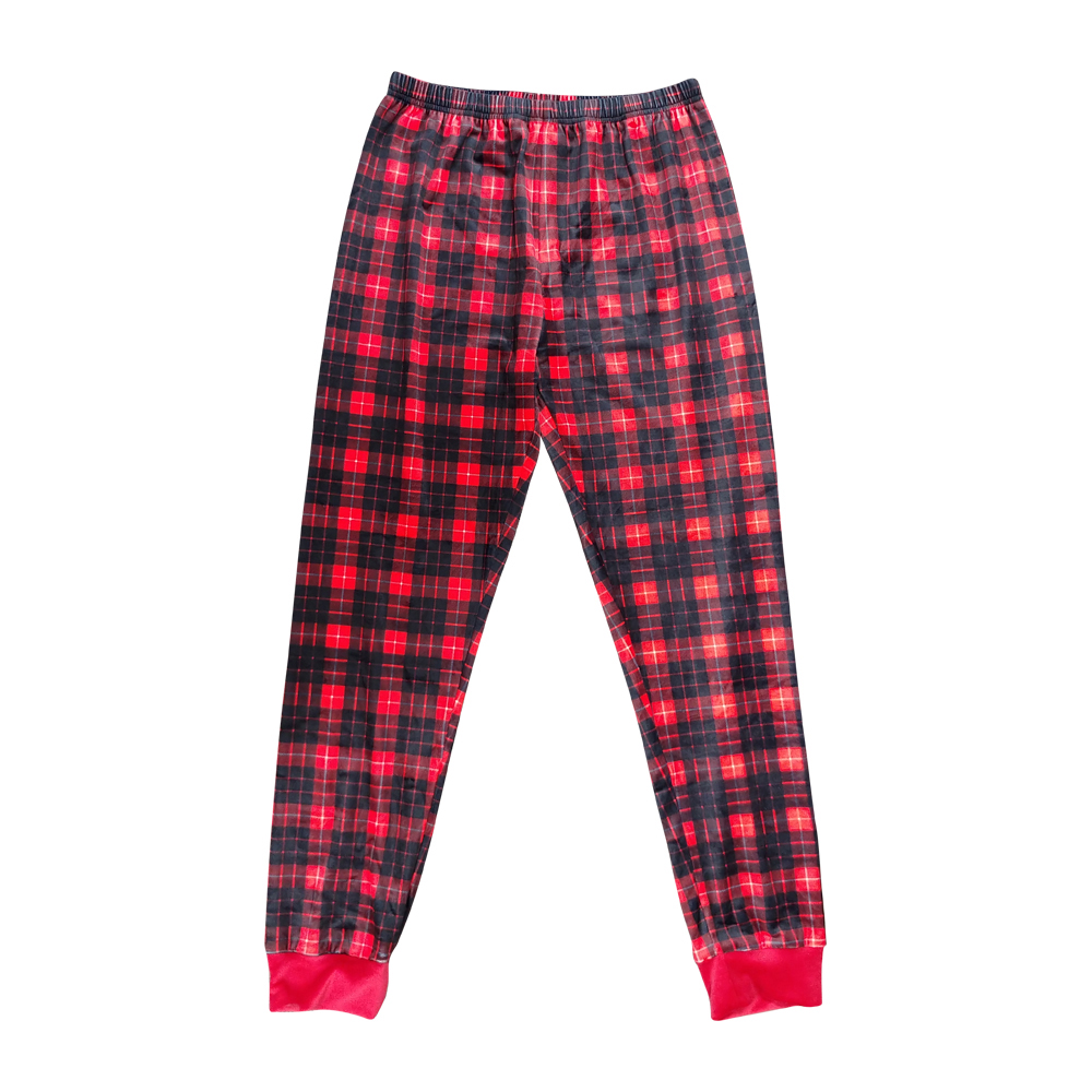 the coral palms ultra soft childrens raglan plaid christmas pajamas - Plaid Christmas Pajamas