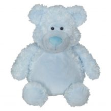 "Embroidery Buddy 16"" Stuffed Animal - Bobby Bear Blue"