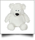 "Embroidery Buddy 16"" Stuffed Animal - Bobby Bear White"