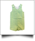 Gingham Sleeveless Tank Top Jon Jon - LIME