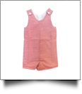 Gingham Sleeveless Tank Top Jon Jon - RED