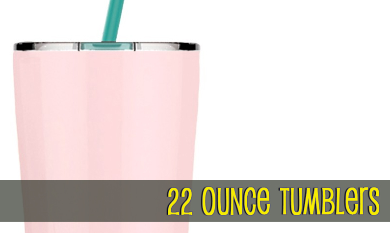 22oz Double Wall Insulated Tumblers