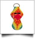 Tie-Dyed Print Neoprene Chapstick Holder