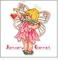 Birthstone Fairies and Cat and Puppy Angels Embroidery Designs on CD from the Vermillion Stitchery 73300