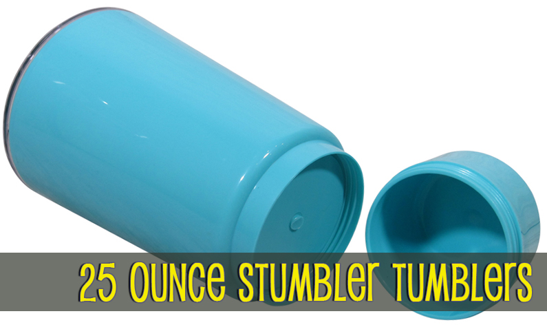 25oz Stumbler Tumblers by Beach Cubbies