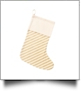 Classic Gold Stripe Stocking