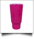 Stumbler Tumbler 25oz Double Wall Tumbler with Secret Compartment - HOT PINK