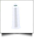 Madeira Aeroquilt Polyester Longarm Quilting Thread 3000 Yard Cone - WHITE