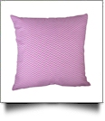 Throw Pillow Cover in Mini Chevron Print - LIGHT PINK - CLOSEOUT