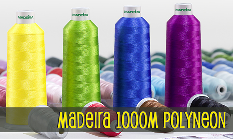 Madeira Polyneon 1000 Meter Polyester Embroidery Thread Spools