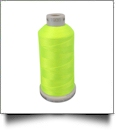 1935 Fluorescent Yellow Green Madeira Polyneon Polyester Embroidery Thread 1000 Meter Spool