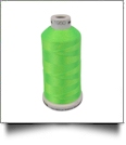 1950 Fluorescent Green Madeira Polyneon Polyester Embroidery Thread 1000 Meter Spool