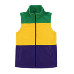 The Coral Palms� Fleece Mardi Gras Vests