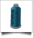 1846 Dark Teal Madeira Polyneon Polyester Embroidery Thread 1000 Meter Spool