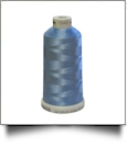1542 Blue Heather Madeira Polyneon Polyester Embroidery Thread 1000 Meter Spool