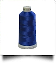 1566 Brilliant Blue Madeira Polyneon Polyester Embroidery Thread 1000 Meter Spool