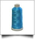 1593 Blue Macaw Madeira Polyneon Polyester Embroidery Thread 1000 Meter Spool