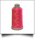 1595 Fluorescent Pink Madeira Polyneon Polyester Embroidery Thread 1000 Meter Spool